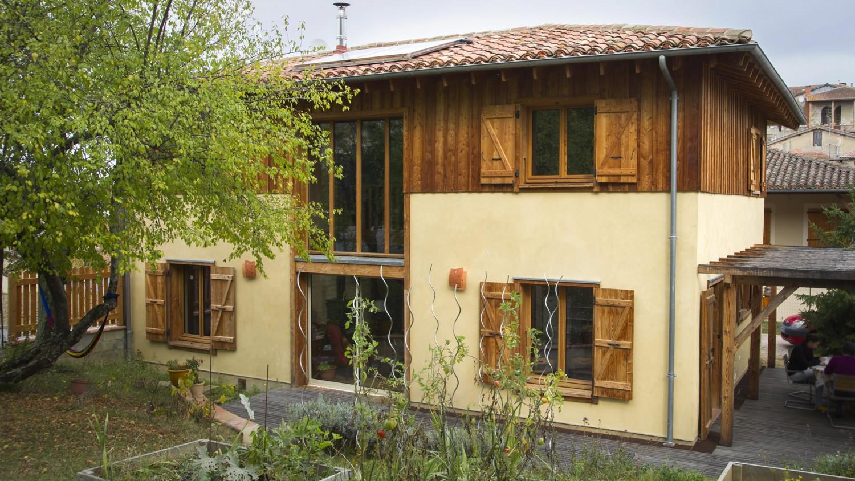 Constructeur De Maison Gers maison paille gimont - marie pirot architecte d.p.l.g gers