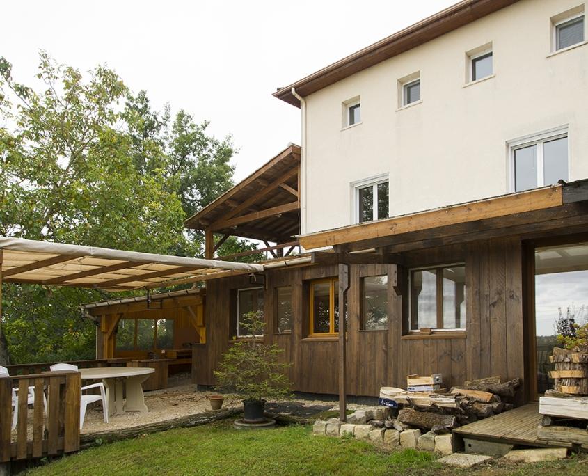 Extension Mengelle Augnax architecte marie Pirot